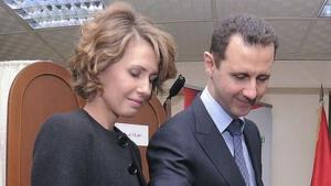 Präsident al-Assad und seine Frau: unter falschem Namen bei iTunes eingekauft