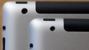 An der größeren Kamera ist das iPad 3 zu erkennen.