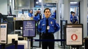 Precheck am Miami International Airport im Oktober 2011