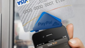Kreditkartenleser Paypal Here im iPhone