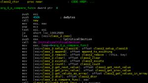 Disassemblierter Duqu-Code