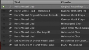 Das Horst-Wessel-Lied soll bei Spotify bald verschwinden.