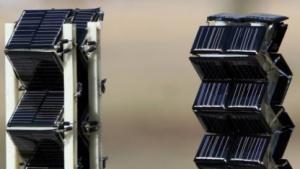 Höhere Energieausbeute: Solarzellen als Ziehharmonika
