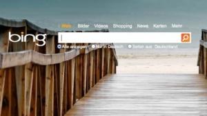 Bing mit Hotspots und Videotour