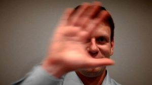 Kinect-Evangelist Gunter Logemann auf der Cebit 2012