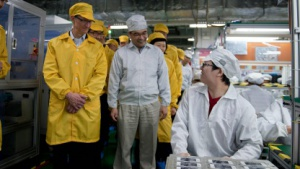 Apple-Chef in Foxconn-Fabrik
