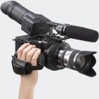 Super-Zeitlupe: 4K-fähiger Camcorder mit Wechselobjektiven für 9.400 Euro
