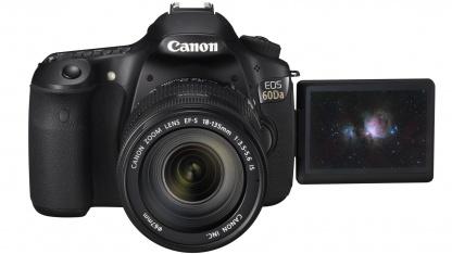 Die EOS 60Da ist für spezielle Motive geeignet.