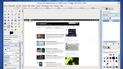 Gimp 2.8 als Release Candidate erschienen