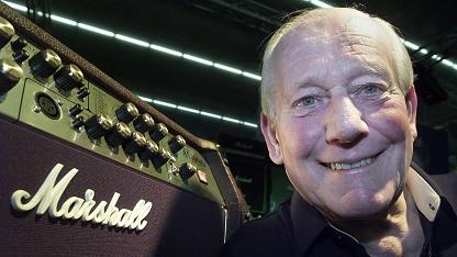 Jim Marshall 2002 auf der Musikmesse in Frankfurt