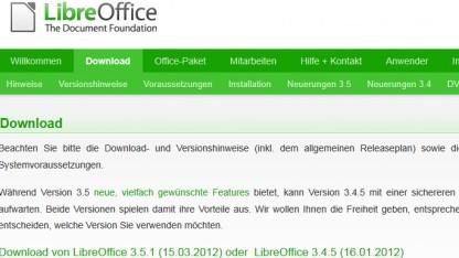 Libreoffice in neuer Version erschienen