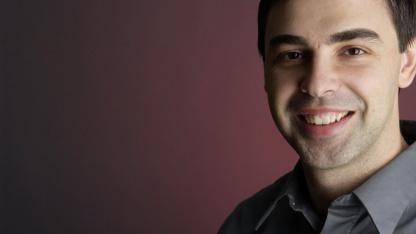 Google-Chef Larry Page zeigt sich zufrieden mit Google+.