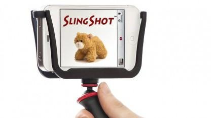 Slingshot: vielseitiges Schwebestativ für Smartphones