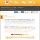 Suchmaschine: Wolfram Alpha analysiert Shakespeare-Dramen