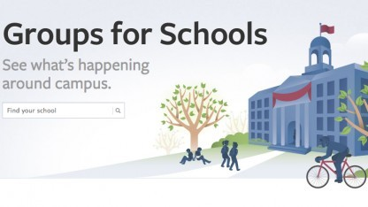 "Website von ""Groups for Schools"""