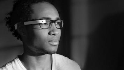 Project Glass - so könnte Googles Datenbrille für Fehlsichtige aussehen.
