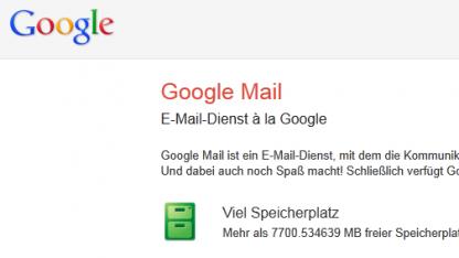 Heißt Google Mail in Deutschland bald wieder Gmail?