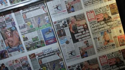 Onlineaktion: Axel-Springer-Konzern beschuldigt Gegner des E-Mail-Bombings