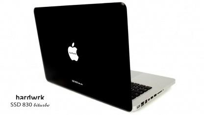 Hardwrk SSD 830 Biturbo - umgebautes Standard-Macbook-Pro