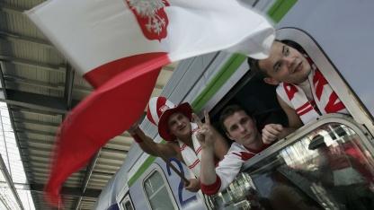 Polnische Fußballfans
