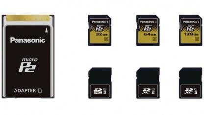 MicroP2 entspricht SD.