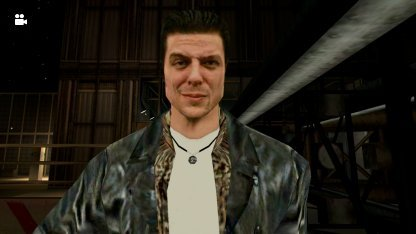 Max Payne mit verkniffenem Blick