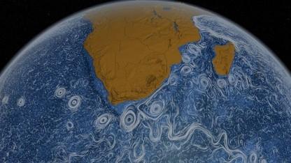 Simulation der Meeresströmungen: Rolle der Ozeane im Kohlenstoffkreislauf erforschen