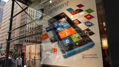 Nokia-Lumia-Werbung in New York