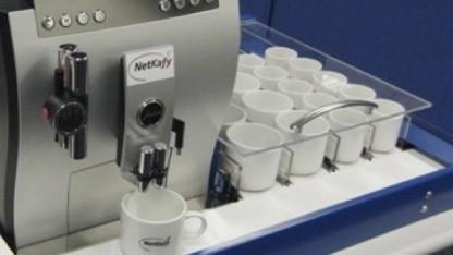 Kaffeevollautomat Netkafy