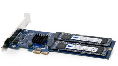 Die SSD-Blades können ausgetauscht werden.