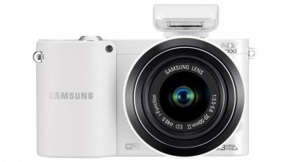 Samsungs WLAN-Systemkamera NX1000