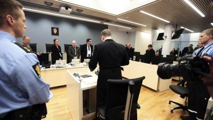 Anders Behring Breivik vor Gericht