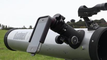Magnifi auf einem Teleskop