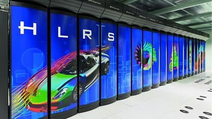 Deutschlands schnellster Supercomputer Hermit mit Cray-Technik