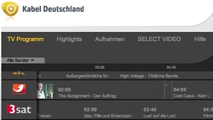 Programmmanager von Kabel Deutschland