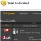 Kabel Deutschland: HD-Videorekorder online programmieren