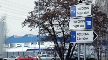 Foxconn in Pardubitz in der Tschechischen Republik