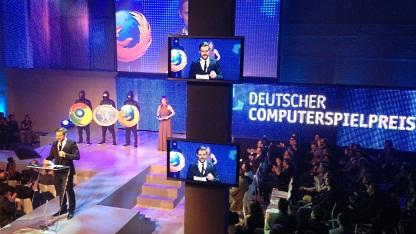 Verleihung Deutscher Computerspielpreis 2012 in Berlin