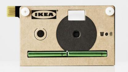 Ikea Knäppa: Speicherplatz für 40 Fotos