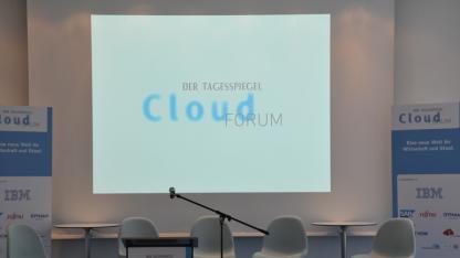 Auf dem Cloud-Forum wird der Einsatz von Cloudcomputing in der öffentlichen Verwaltung diskutiert.