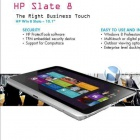 Slate 8: HPs erster Windows-8-Tablet-PC für Geschäftskunden
