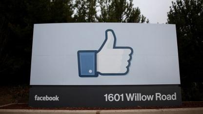 Gefällt mir gefällt US-Richtern nicht: Facebook-Firmenschild
