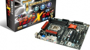 Solche Z77-Boards wie hier von Biostar bekommen bald Konkurrenz.