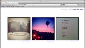 Parallel-ogram speichert Instagram-Sammlungen.