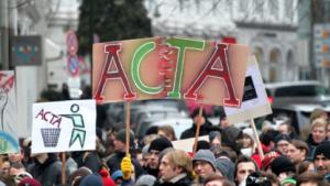 Erste Acta-Demo in Hamburg