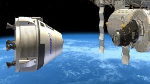Noch Zukunftsmusik: CST-100 soll künftig die ISS versorgen.