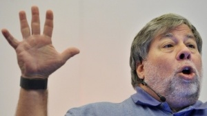 Steve Wozniak auf der Londoner IPEXPO im Oktober 2011