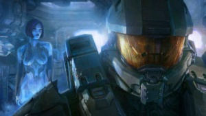 Cortana und der Master Chief in Halo 4