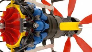 Turbine aus dem 3D-Drucker von Stratasys: Marktführer Stratasys fusioniert mit Objet