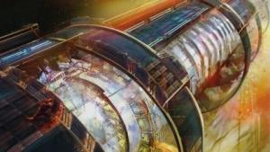 Konzeptgrafik aus Namco-Bandais Star-Trek-Spiel